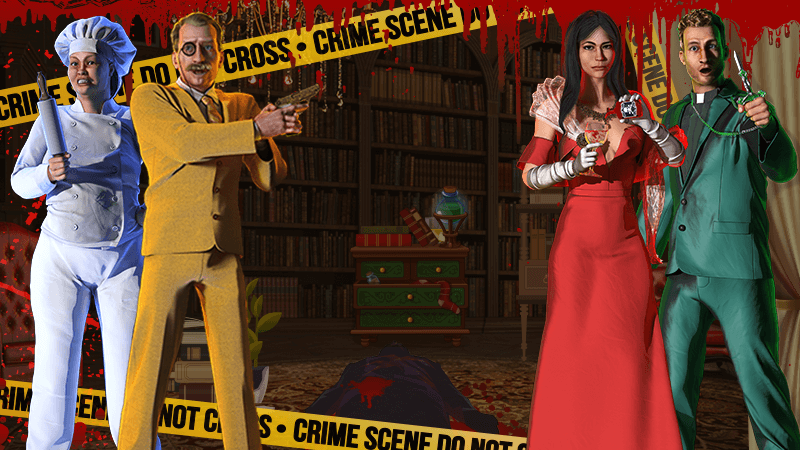 Solve a Murder Mystery in our New Slot
