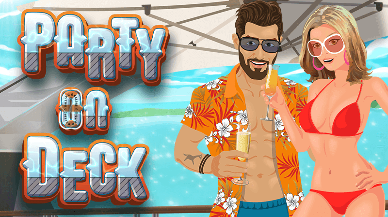 Party On Deck in a New Online Slot!