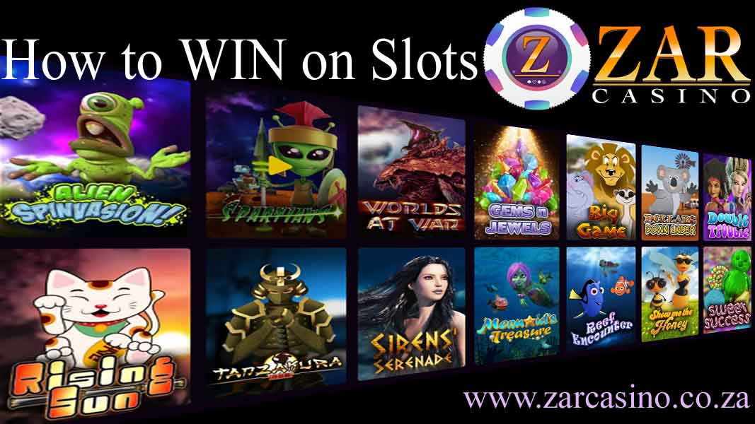 ZAR Casino: How to win on slots