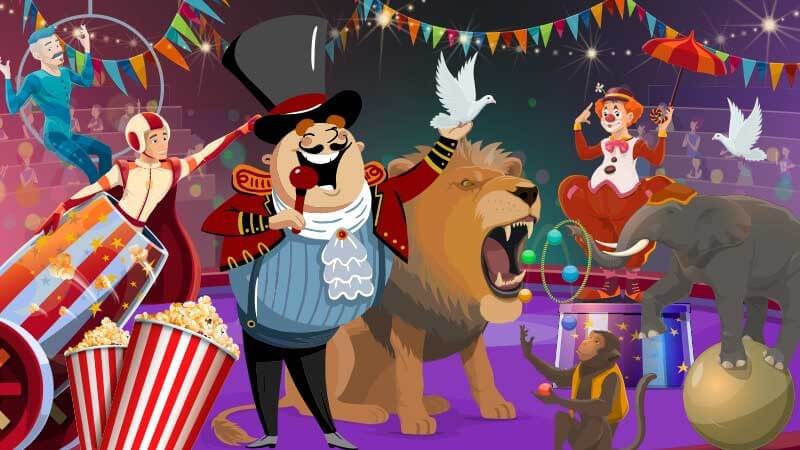 Join the Circus in our New Slot!