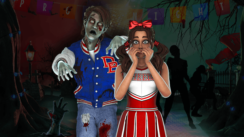 Join a Party with the Undead in our New Slot!