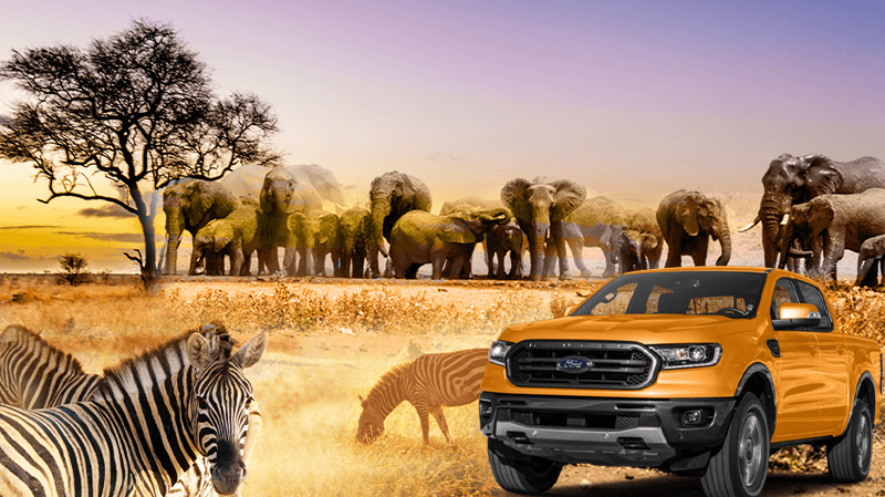 Win a Brand New Ford Ranger!