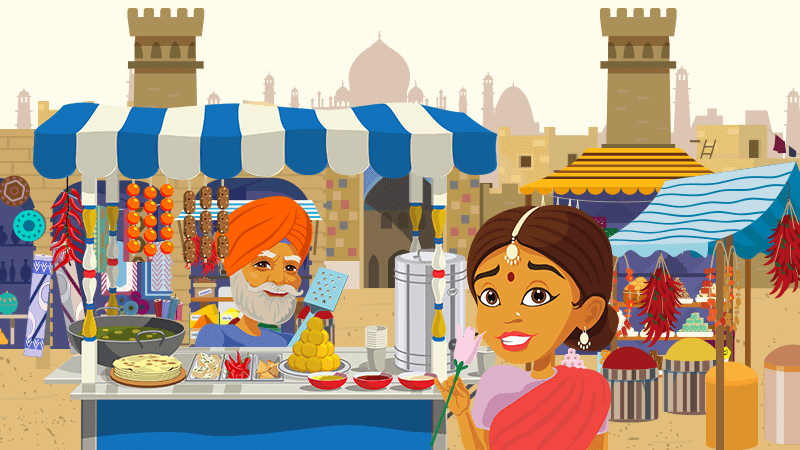 Discover colourful and spicy India in our new online slot!