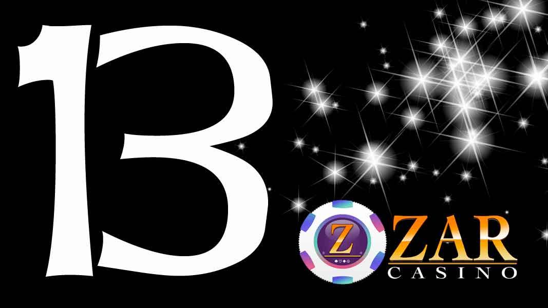 ZAR Casino Promotion Lucky 13