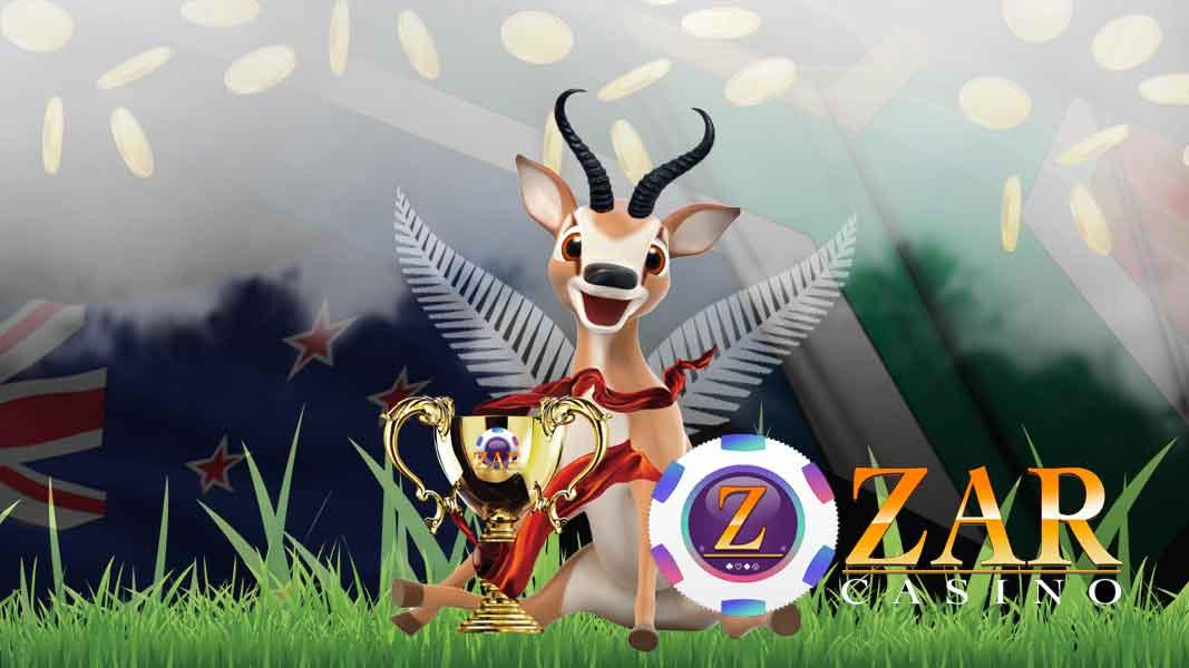ZAR Casino Springbok Wins