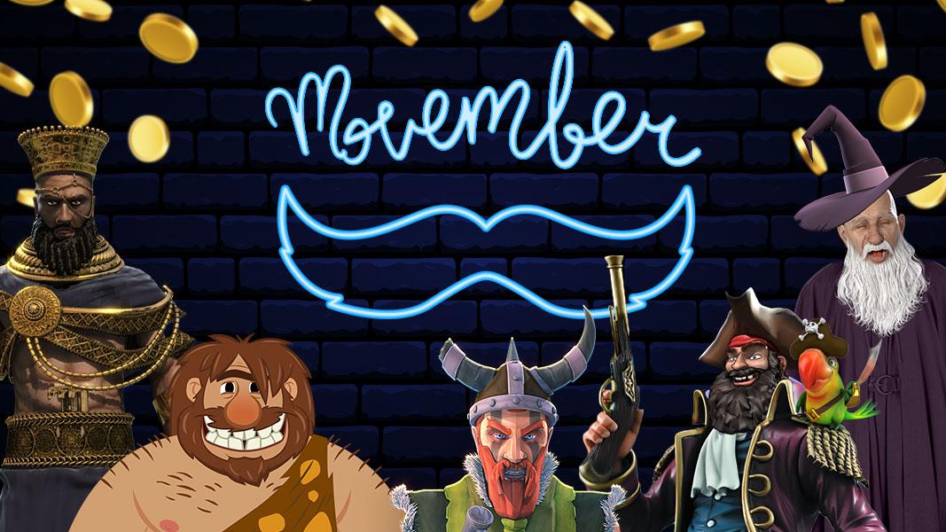 ZAR Casino Movember Giveaways